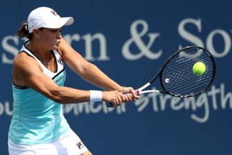 Barty reaches Cincy semis, Osaka retires with knee injury