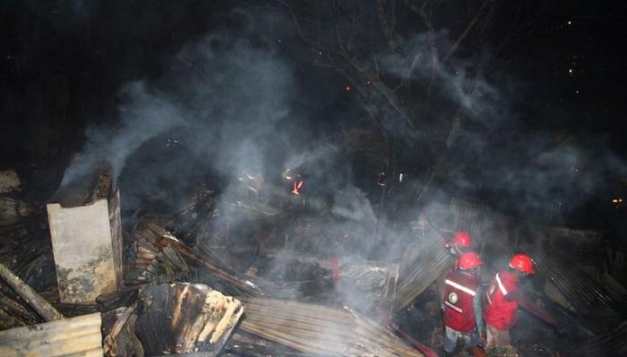 Rupnagar slum fire leaves about 1,000 families destitute