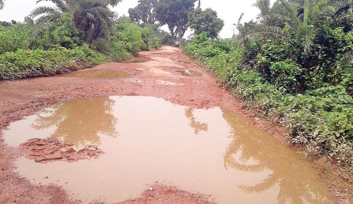 Khalishpur-Jadobpur road
