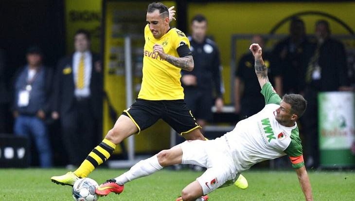Dortmund starts Bundesliga campaign with 5-1 win v Augsburg