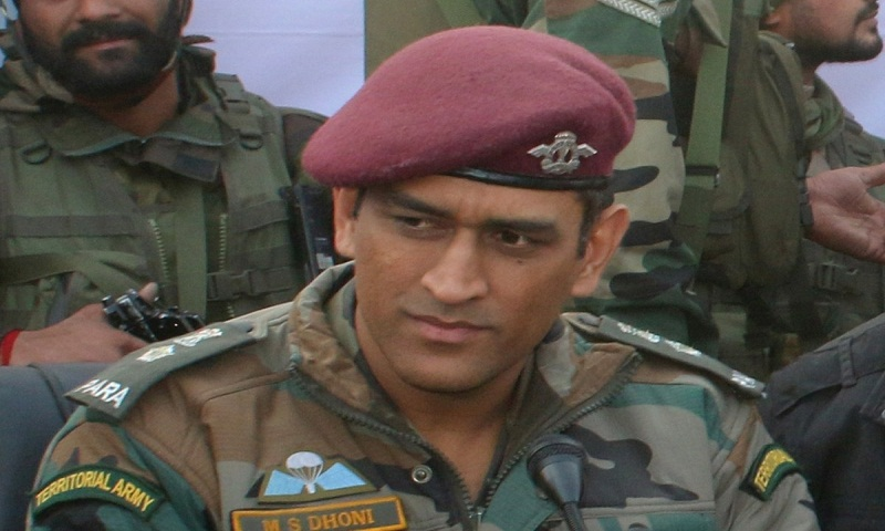 MS Dhoni completes 15-day stint with Territorial Army