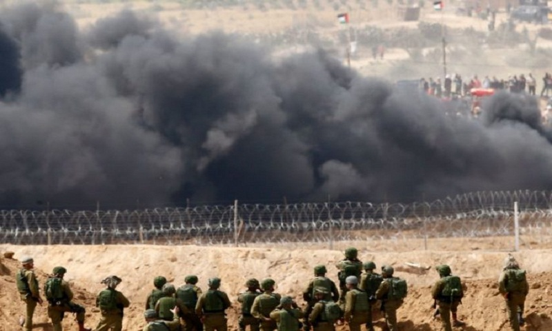 Three Palestinians killed by Israeli soldiers at Gaza border