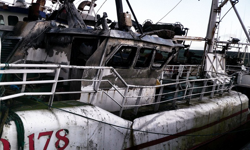 7 killed as ship catches fire in Indonesia