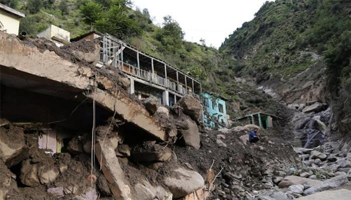 Mudslide in Pakistani-administered Kashmir kills 7