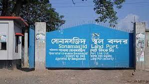 Sonamasjid Land port operation resumes after a nine-day vacation