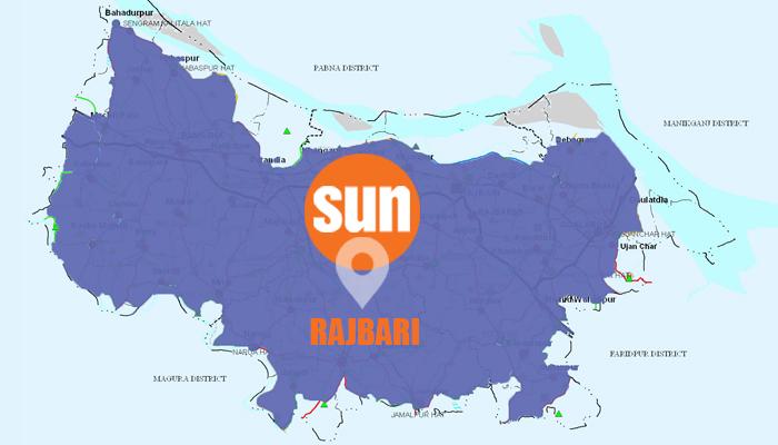 Driver killed in Rajbari road accident