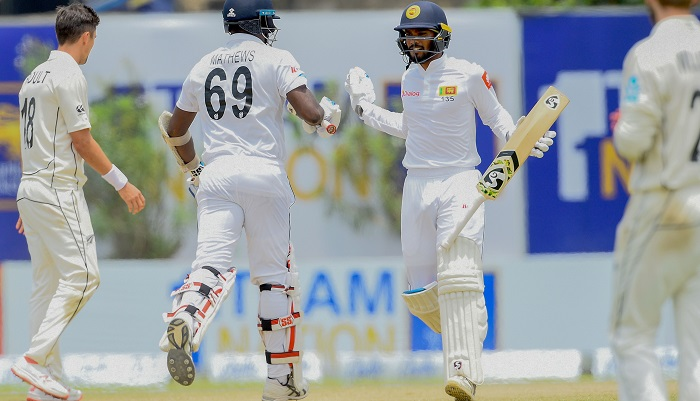 Sri Lanka beat New Zealand in first Test by six wickets