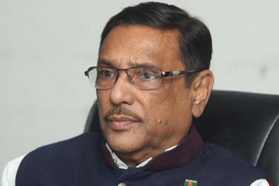 Quader slams BNP for complaining against country