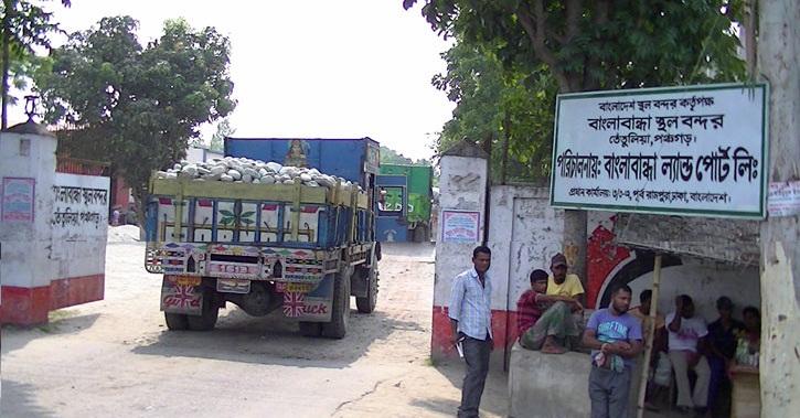 Banglabandha land port activities resume