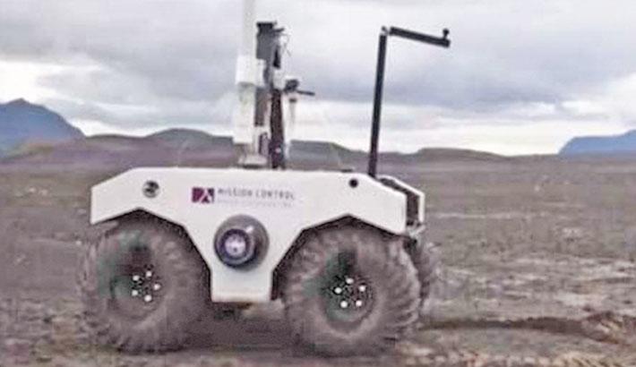 NASA tests Mars rover