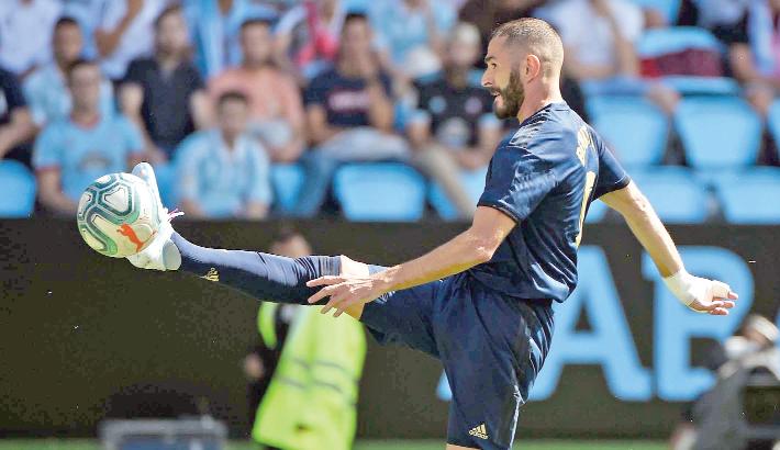 Madrid back to winning ways at Celta