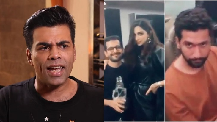 Karan Johar responds to drug party accusation