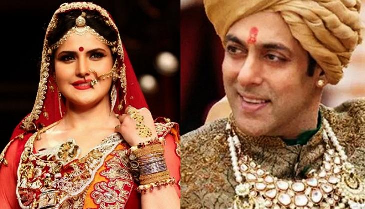 Zareen Khan wants to marry Salman Khan?