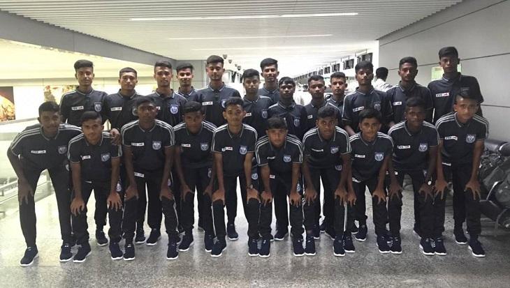SAFF U-15 Champs: Bangladesh squad reach W Bengal