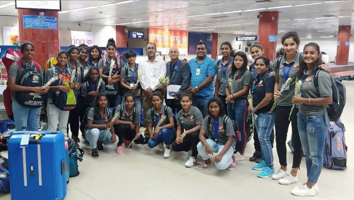 Indian Women's Hockey team in city to play friendly matches