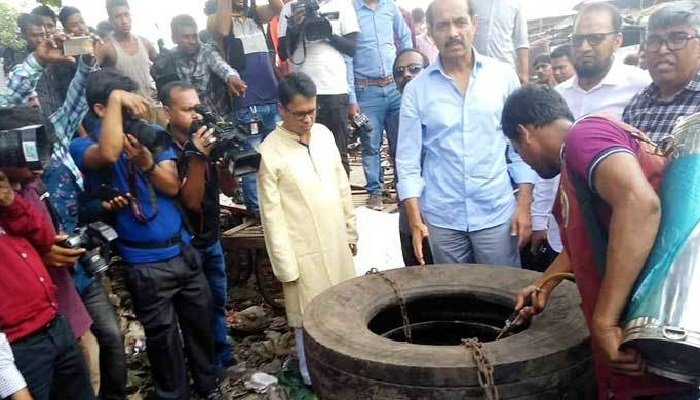 Aedes larvae found behind Mohakhali bus terminal, Tk 5 lakh fined