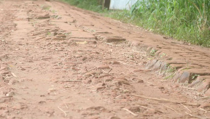 People suffering due to dilapidated road in Munshiganj