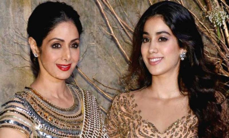 Janhvi Kapoor follows Sridevi's lead