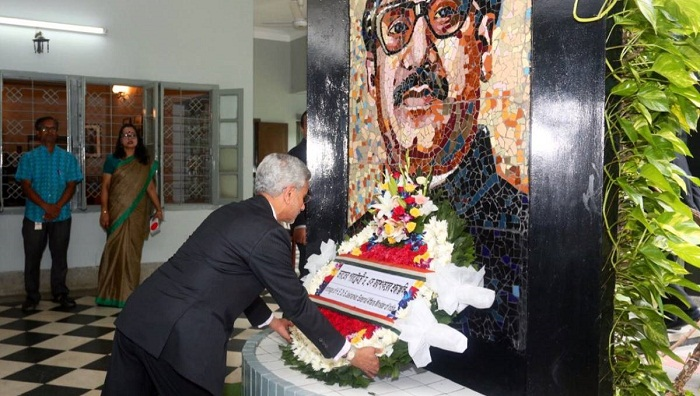Jaishankar pays tributes to Bangabandhu
