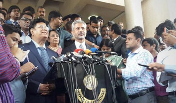 We are ready to share water of common rivers: Dr S Jaishankar
