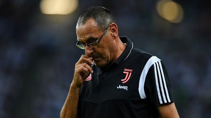 Juventus coach Maurizio Sarri diagnosed with pneumonia