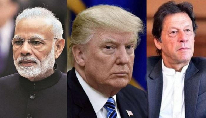 Trump urges India, Pakistan to ease tension over Kashmir