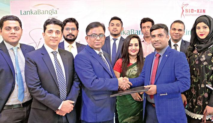 LankaBangla Finance, Bio-Xin Cosmeceuticals ink deal