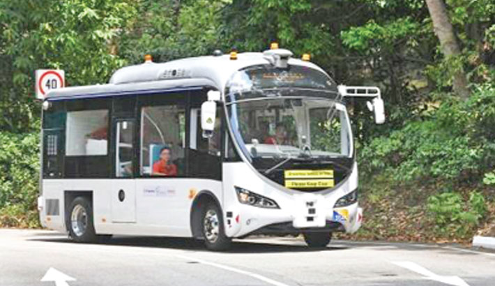 S'pore to trial driverless buses booked with an app