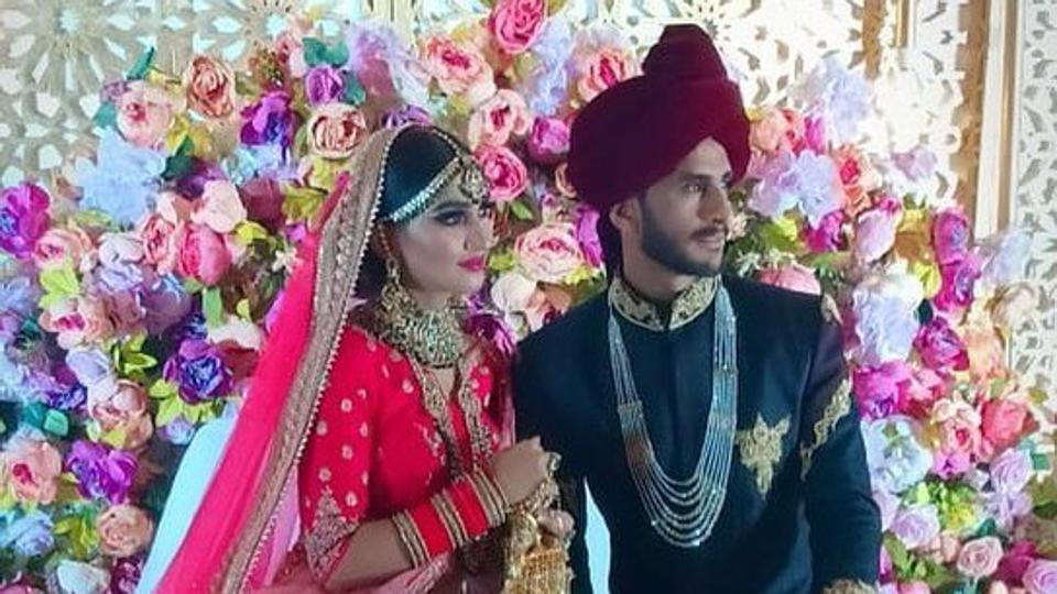 Pakistan cricketer Hasan Ali weds Indian girl Shamia Arzoo in Dubai