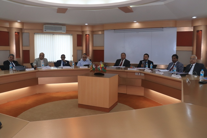 IUBAT VC participates in AMDISA Executive Board meeting in India