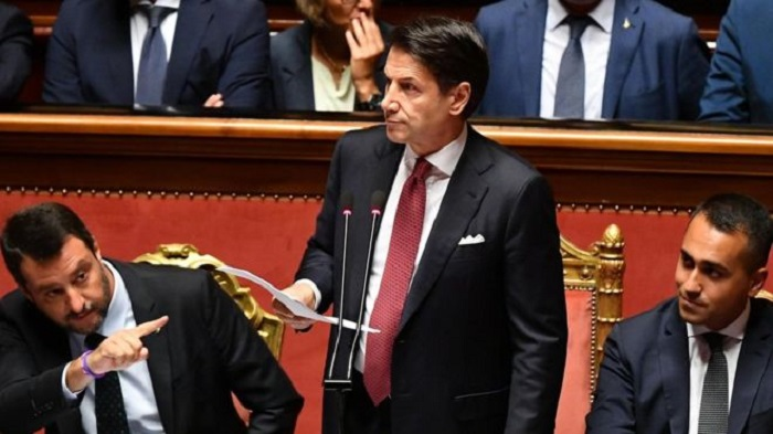 Italy Prime Minister Conte quits amid coalition row