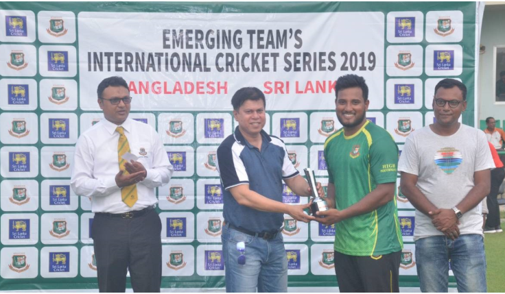 Emerging Cricket: Bangladesh level series 1-1 against Sri Lanka