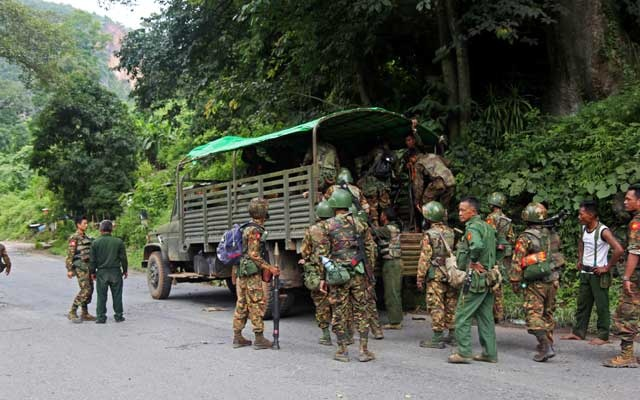 Ethnic alliance says 30 Myanmar army troops killed