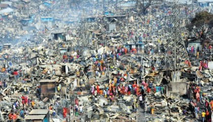 DFID allocates £102,625 for Mirpur fire victims