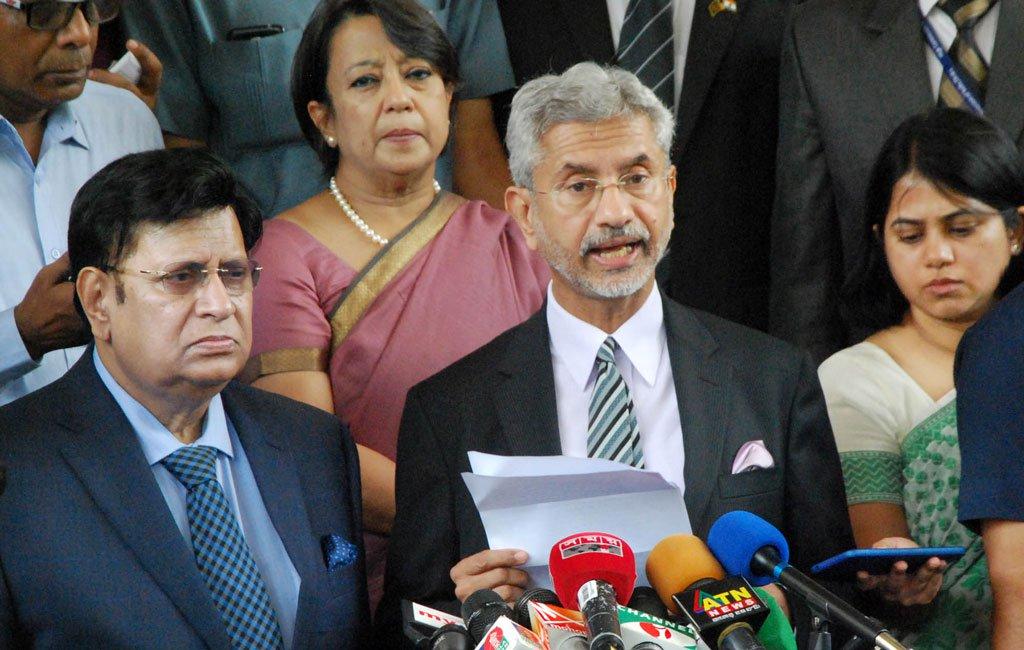 Dhaka, Delhi ties on positive trajectory: Jaishankar