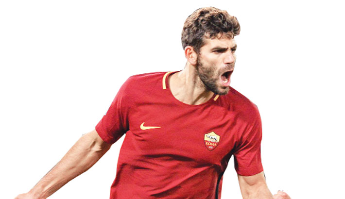 Fazio pens Roma extension deal