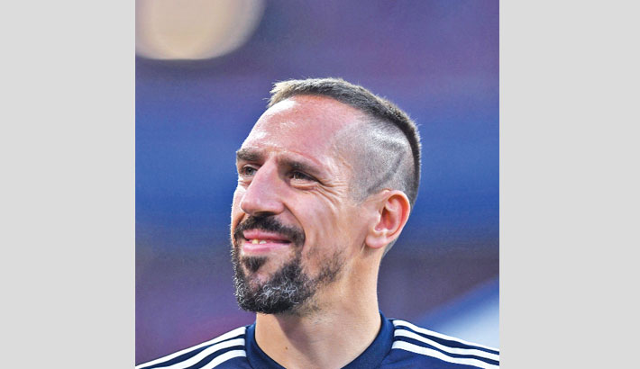 Ribery in Tuscany for Fiorentina move