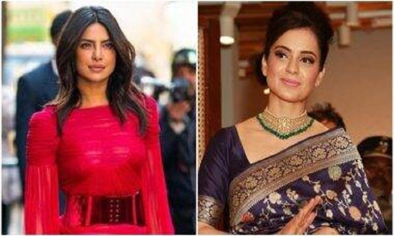 Kangana extends support to Priyanka Chopra over Indian Army tweet backlash