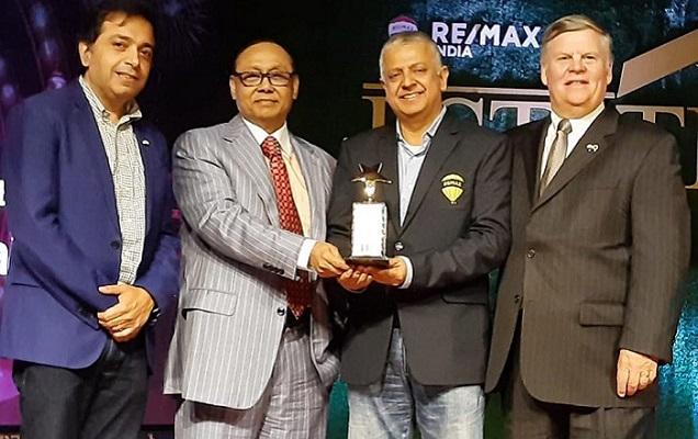 Bashundhara Group Chairman receives Estate Awards in India