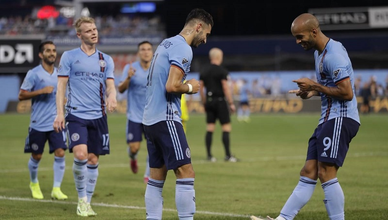 Castellanos scores 10th goal, NYCFC tops Crew 1-0