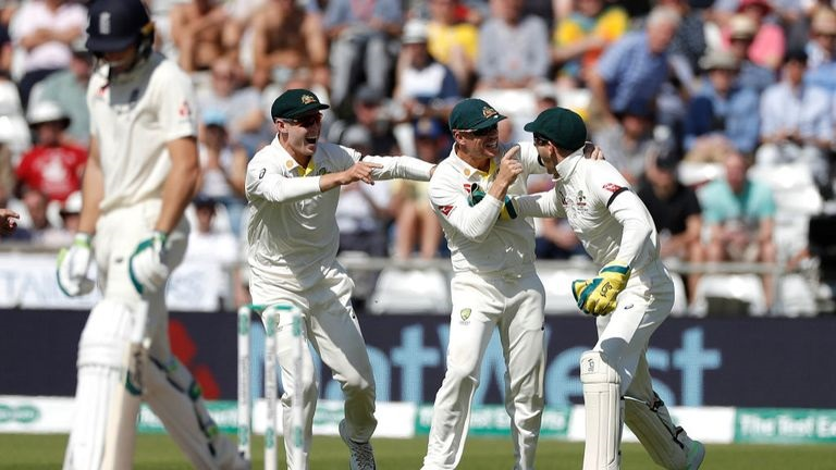 England 67 all out in third Ashes Test