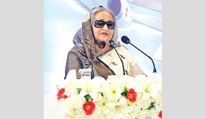 Work hard to allow Biman to 'spread its wings': PM