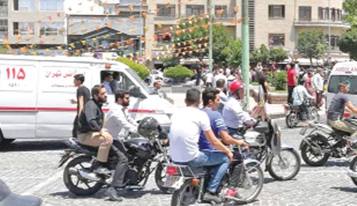 Iran celebrities 'use ambulances to avoid traffic'