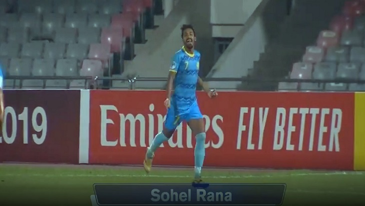 Dhaka Abahani's Sohel Rana wins AFC Cup 2019 Goal of the Week