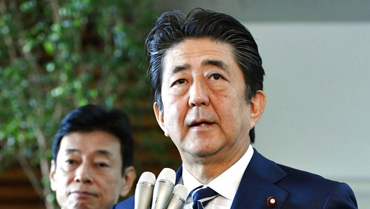 Japan leader says S. Korea ending intel deal damages trust