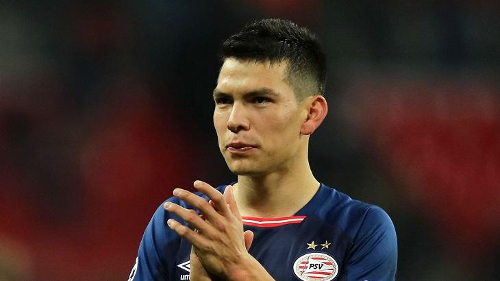 Mexican forward Lozano completes Napoli move