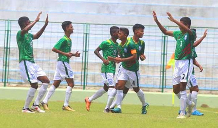 SAFF U-15 Football: Bangladesh beat Bhutan by 5-2 goals