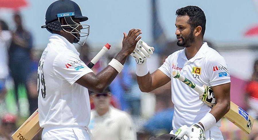 Karunaratne helps Sri Lanka to 85-2 on rain-hit first day