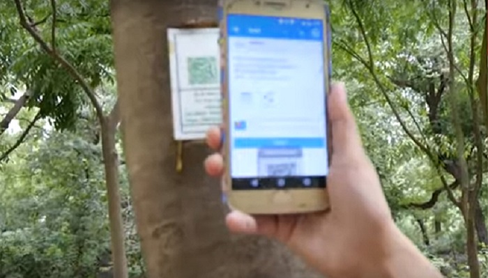 6,000 trees to be equipped with QR codes in New Delhi