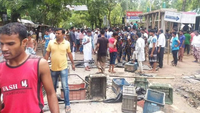 Locals storm Rohingya camp after Jubo League leader's murder